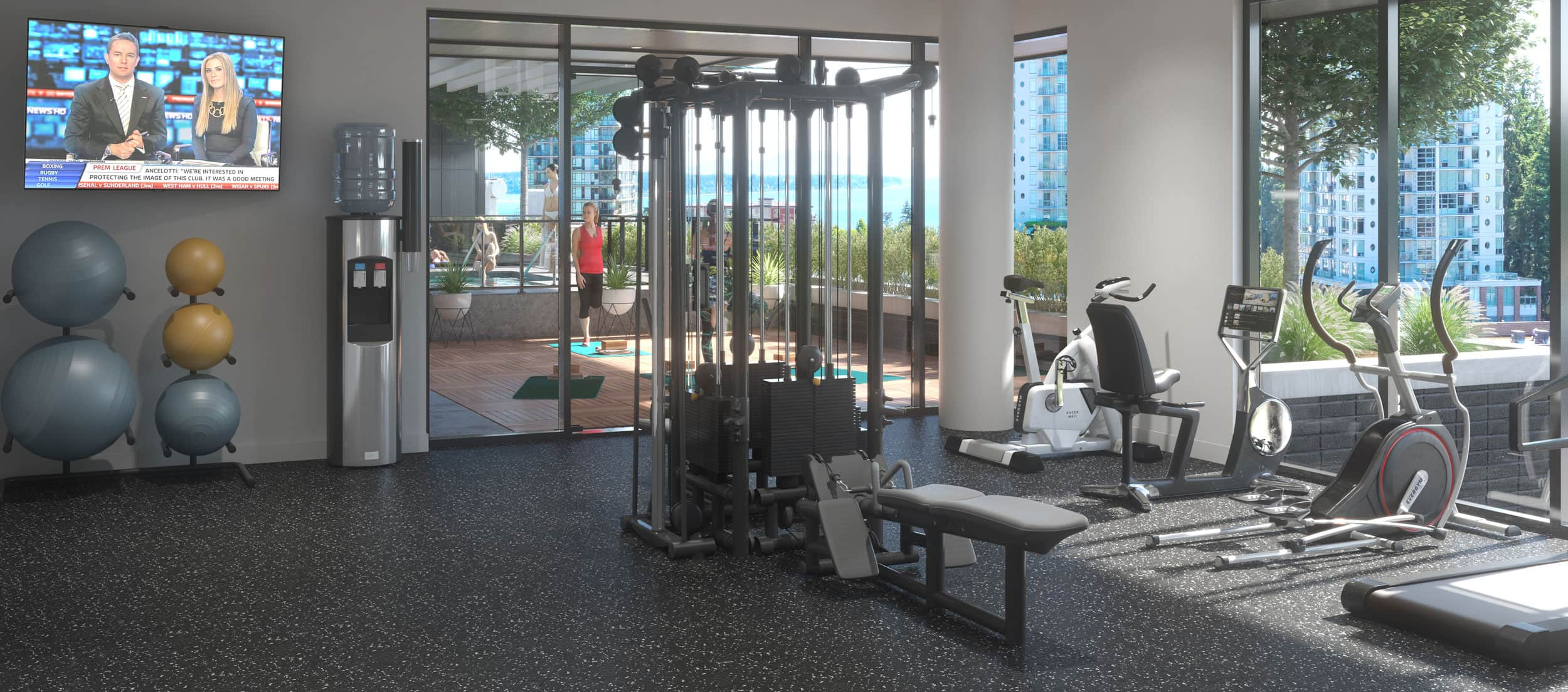 Amenities - Gym